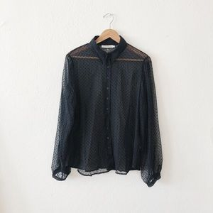 Anne Fontaine | Sheer Blouse